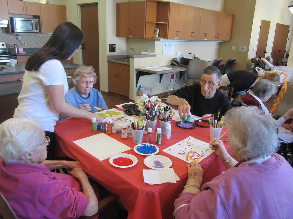 Art Therapy Painting And Sketching Can Help Dementia Patients